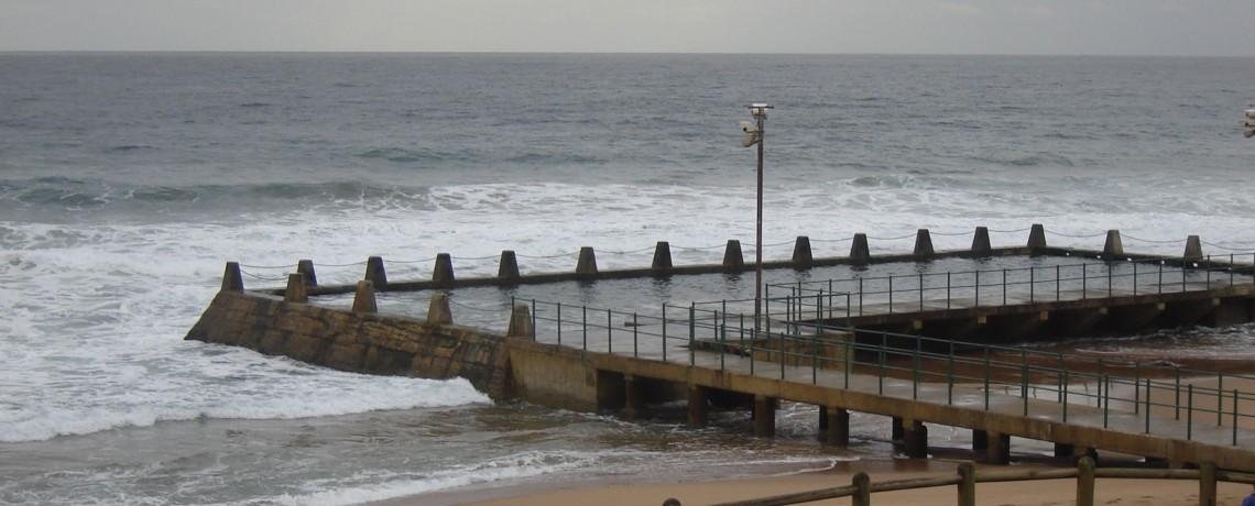 Brighton Beach Pool, Bluff, KwaZulu-Natal, South Africa