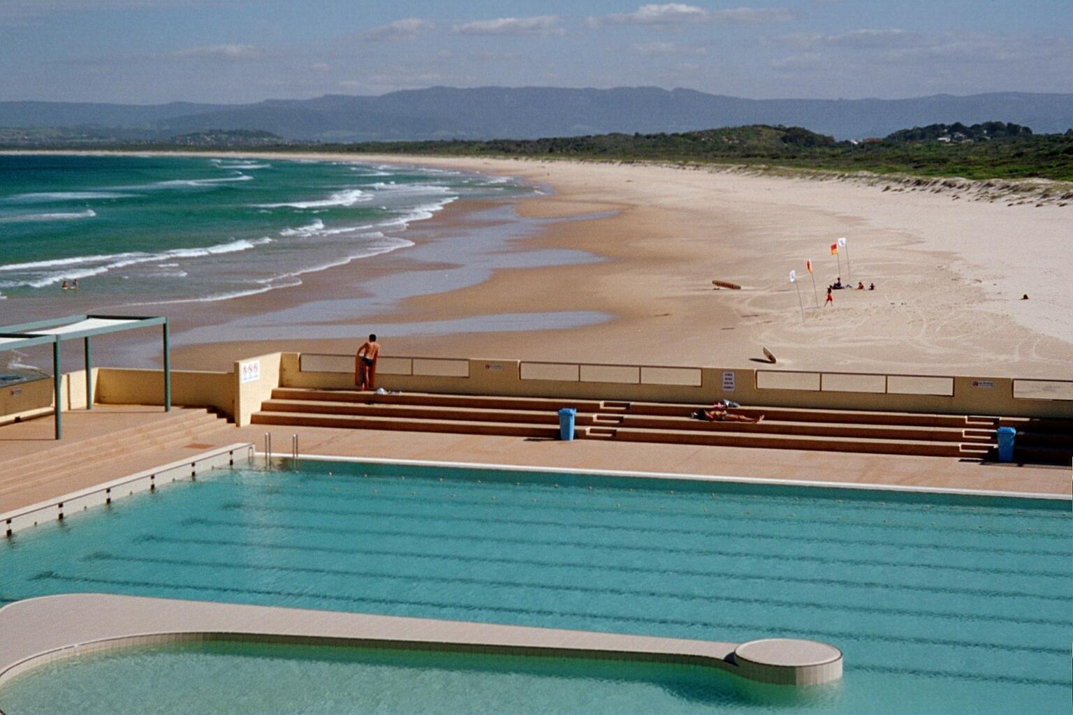 Port Kembla Olympic Pool Port Kembla Nsw Australia