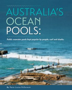 Australia's ocean pools - book cover