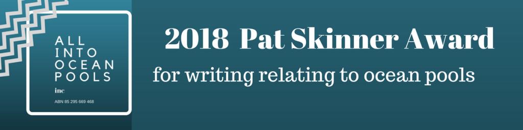 2018 Pat Skinner Award logo
