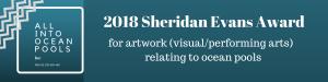 2018 Sheridan Evans Art Award logo