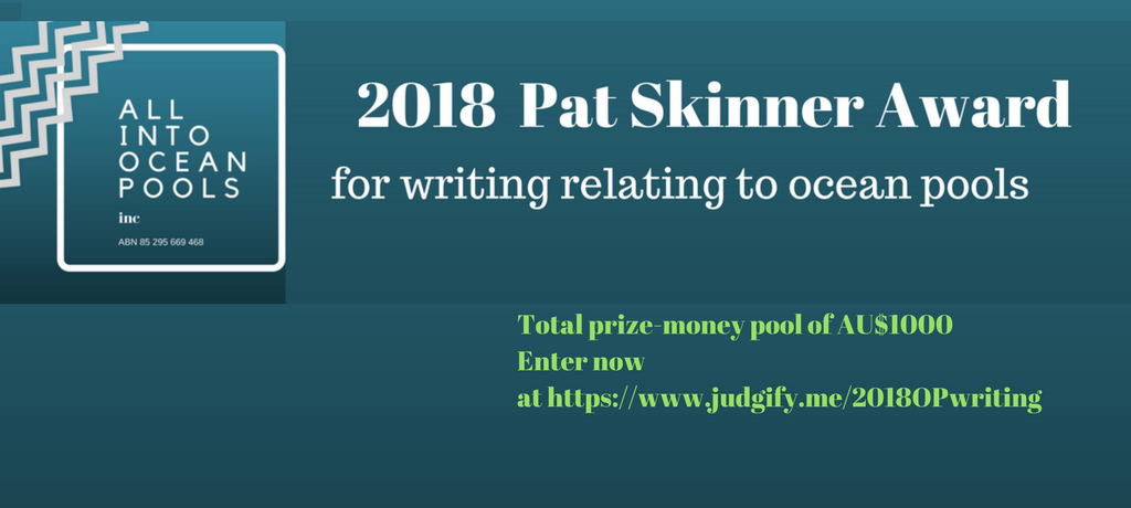 Writing award open for entries!
