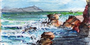Terrigal Rock Pool early morning by Peter Andrews